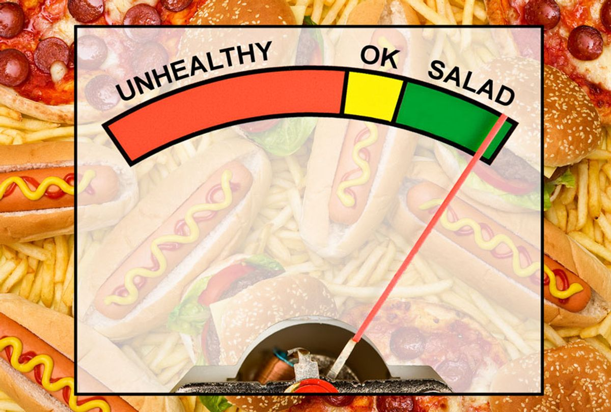 Fast food health meter (Getty Images/Salon)