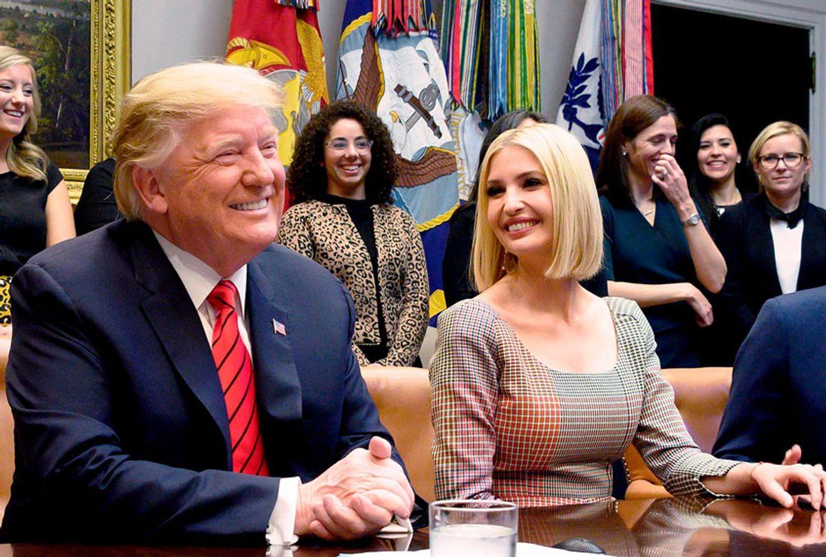 Donald Trump and Ivanka Trump (JIM WATSON/AFP via Getty Images)