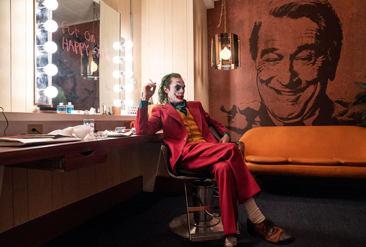 "JOAQUIN PHOENIX as Joker in Warner Bros. Pictures, Village Roadshow Pictures and BRON Creative's ""JOKER,"" a Warner Bros. Pictures release. (Warner Bros. Entertainment Inc.)"