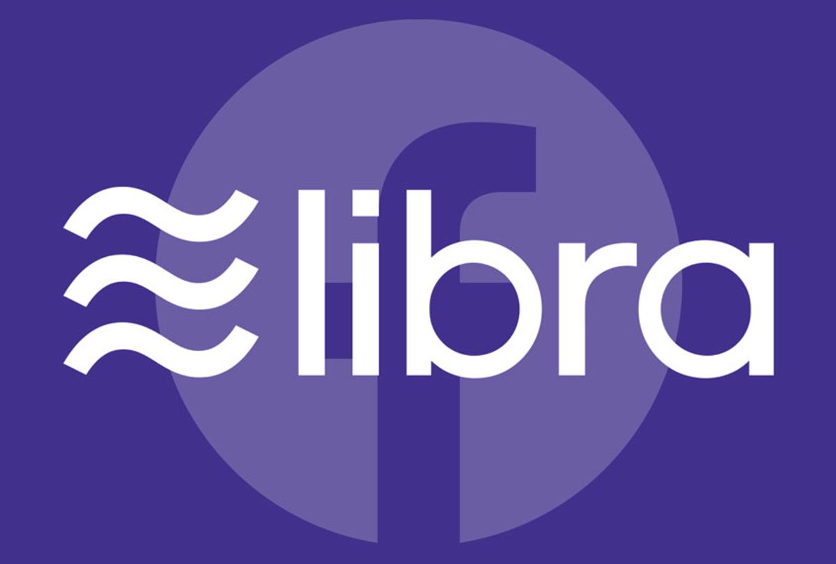 Libra cryptocurrency (Libra/Facebook/Wiki Commons)