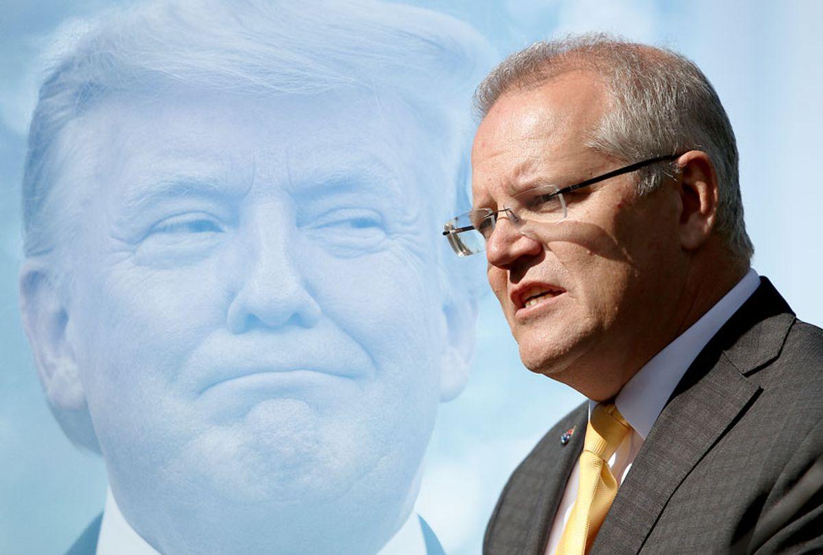 Australian Prime Minister Scott Morrison (Lisa Maree Williams/Getty Images/Salon)