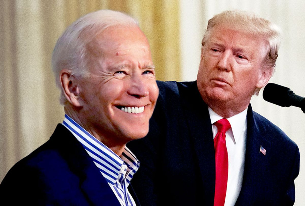 Donald Trump and Joe Biden (AP Photo/Salon)