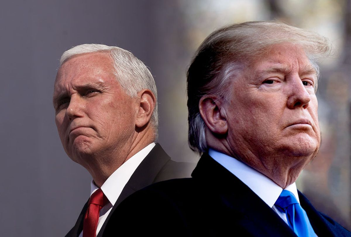 Donald Trump and Mike Pence (Brendan Smialowski/Drew Angerer/Getty Images)