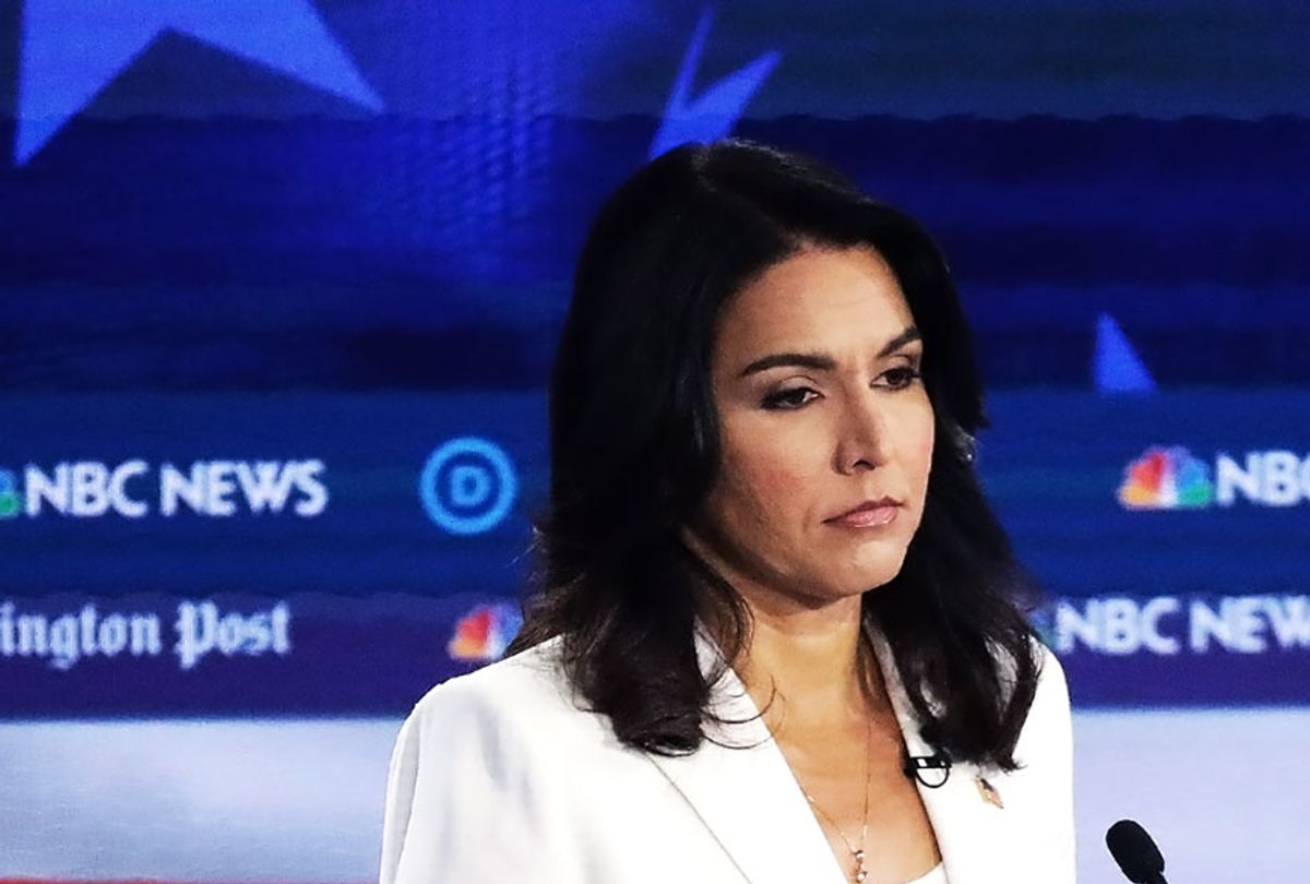 Democratic presidential candidate Rep. Tulsi Gabbard (Alex Wong/Getty Images)