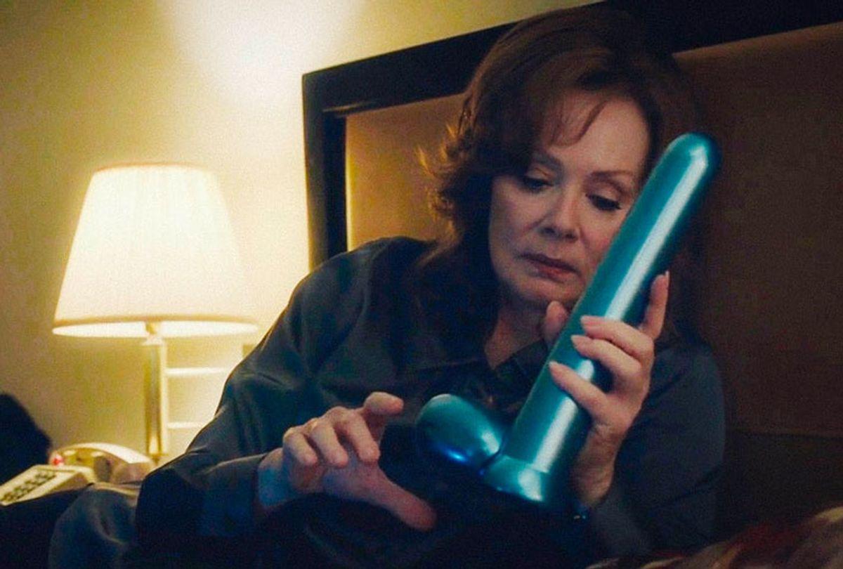 Laurie Blake (Jean Smart) in HBO's Watchmen. (Mark Hill/HBO)