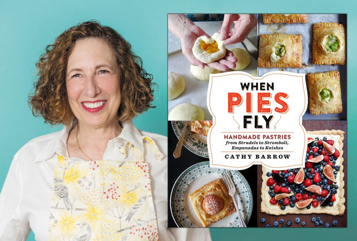When Pies Fly: Handmade Pastries from Strudels to Stromboli, Empanadas to Knishes to Knishesby Cathy Barrow (Photos provided by publicist)