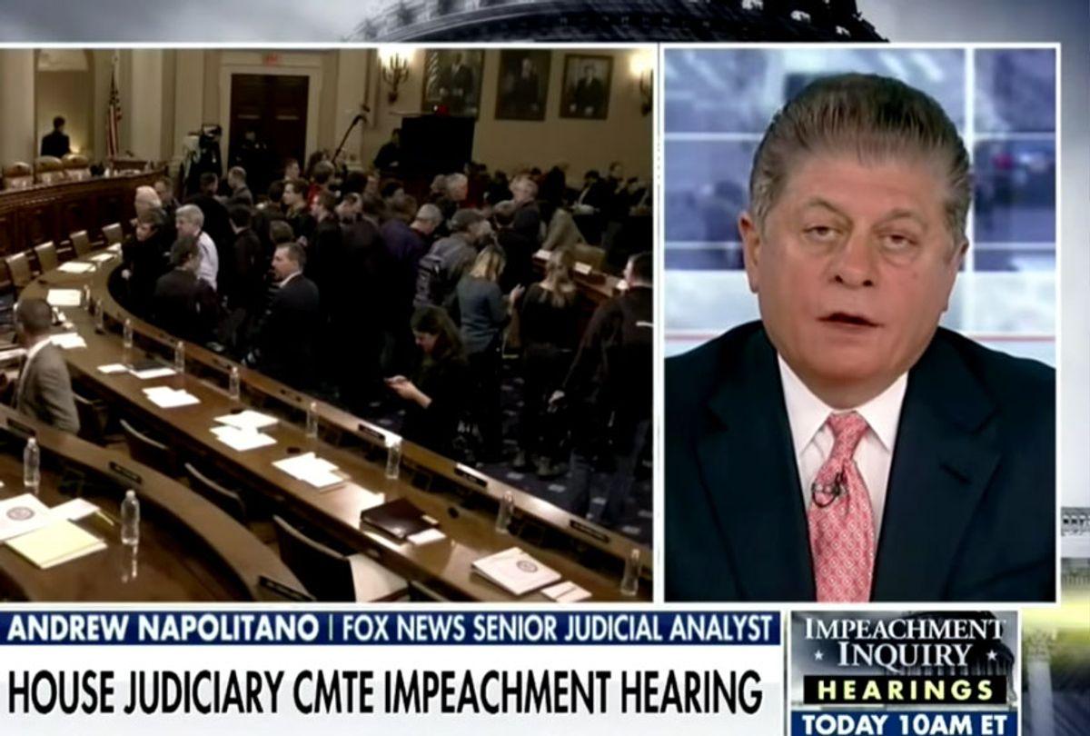 "Andrew Napolitano and ""America's Newsroom"" (Fox News)"