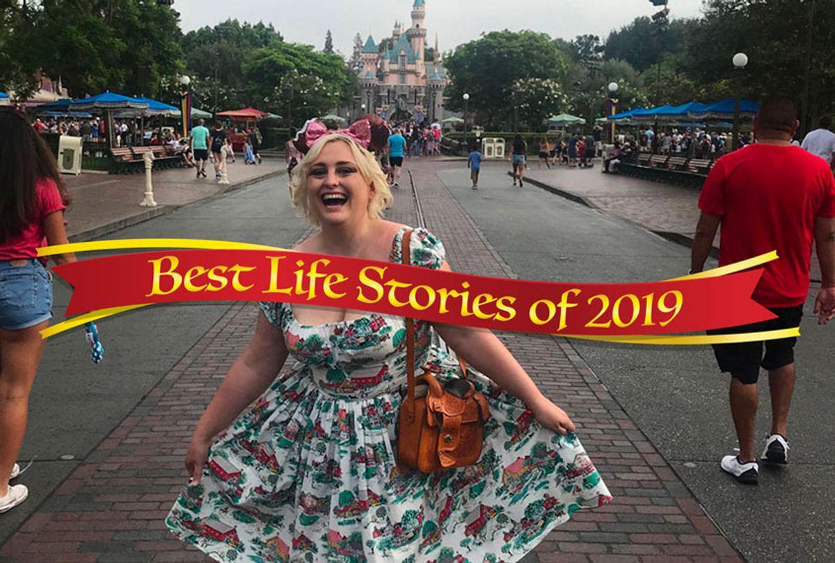 Tabitha at Disneyland (Courtesy of author)