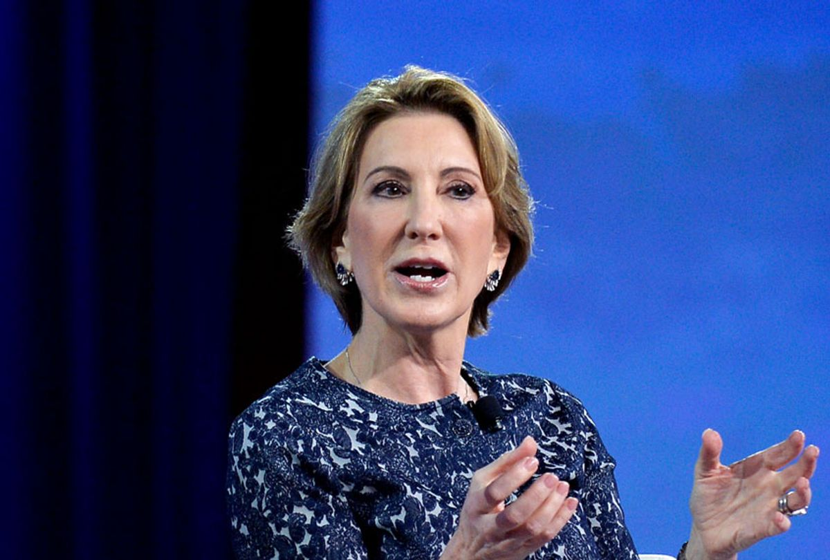 Carly Fiorina  (MIKE THEILER/AFP via Getty Images)