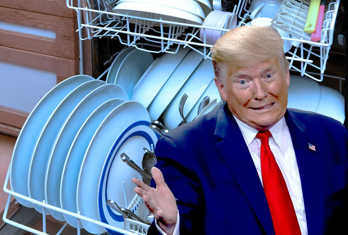 Donald Trump (Peter Dazeley/JEFF KOWALSKY/AFP via Getty Images/Salon)