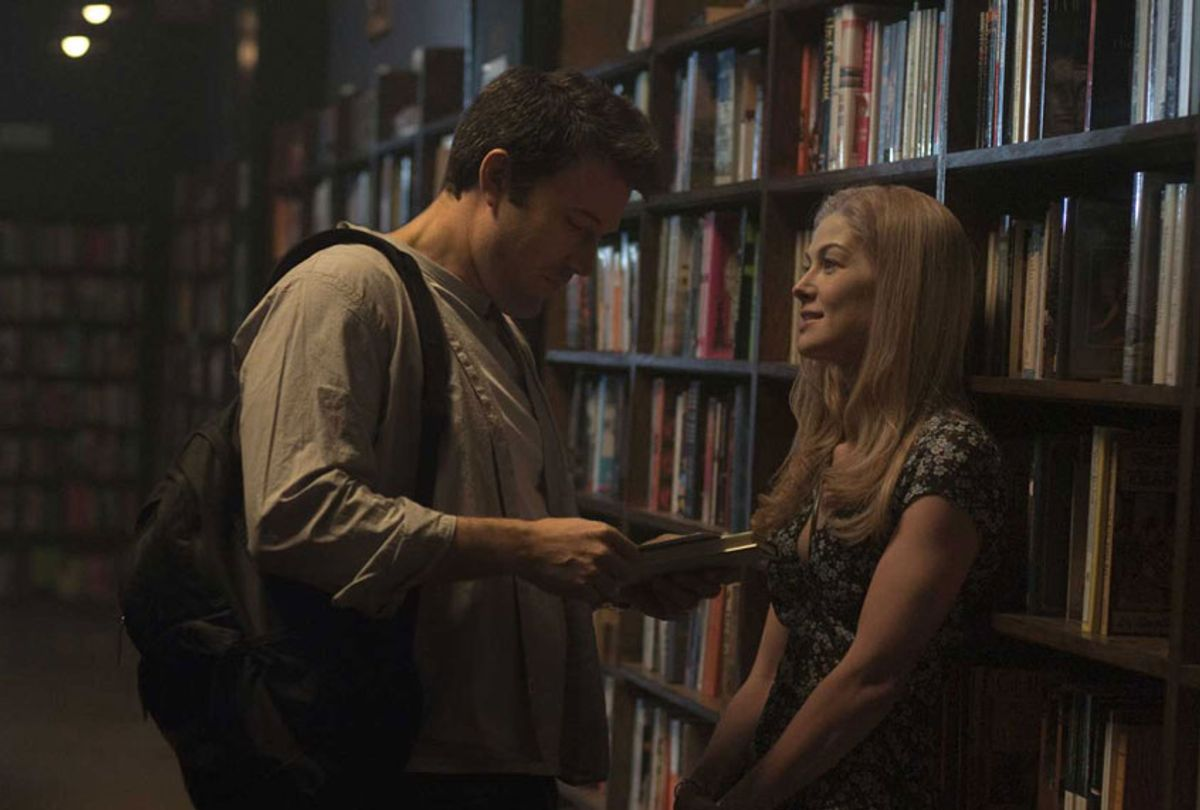 """Amy Dunne and Ben Afleck in """"Gone Girl"""" (20th Century Fox)"""