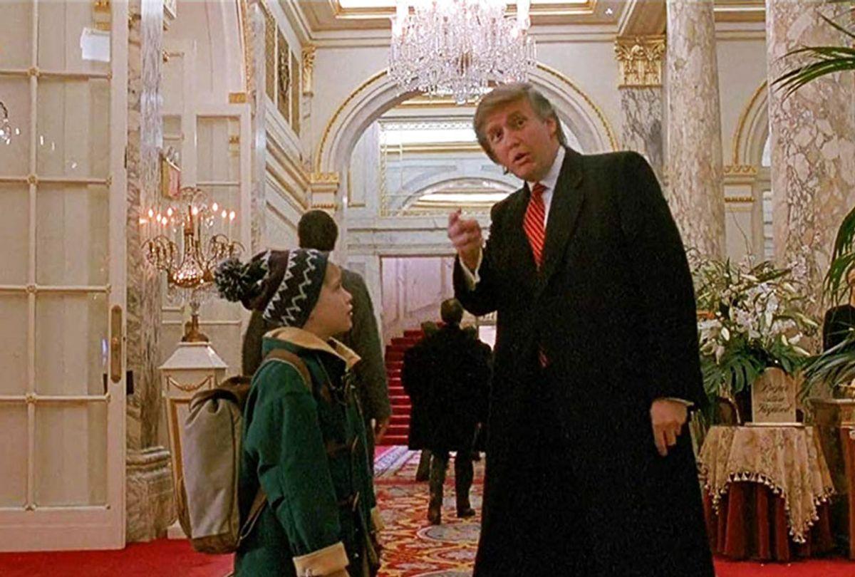 Macaulay Culkin and Donald Trump in Home Alone 2: Lost in New York  (20th Twentieth Century Fox)