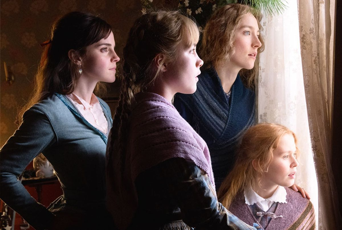 Emma Watson, Saoirse Ronan, Eliza Scanlen and Florence Pugh in LITTLE WOMEN. (Columbia Pictures/Sony Pictures/Wilson Webb)