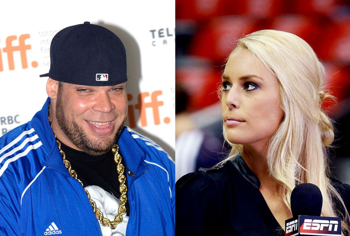 """George """"Tyrus"""" Murdoch and Brittany McHenry (Aaron Harris/Mike Zarrilli/Getty Images)"""