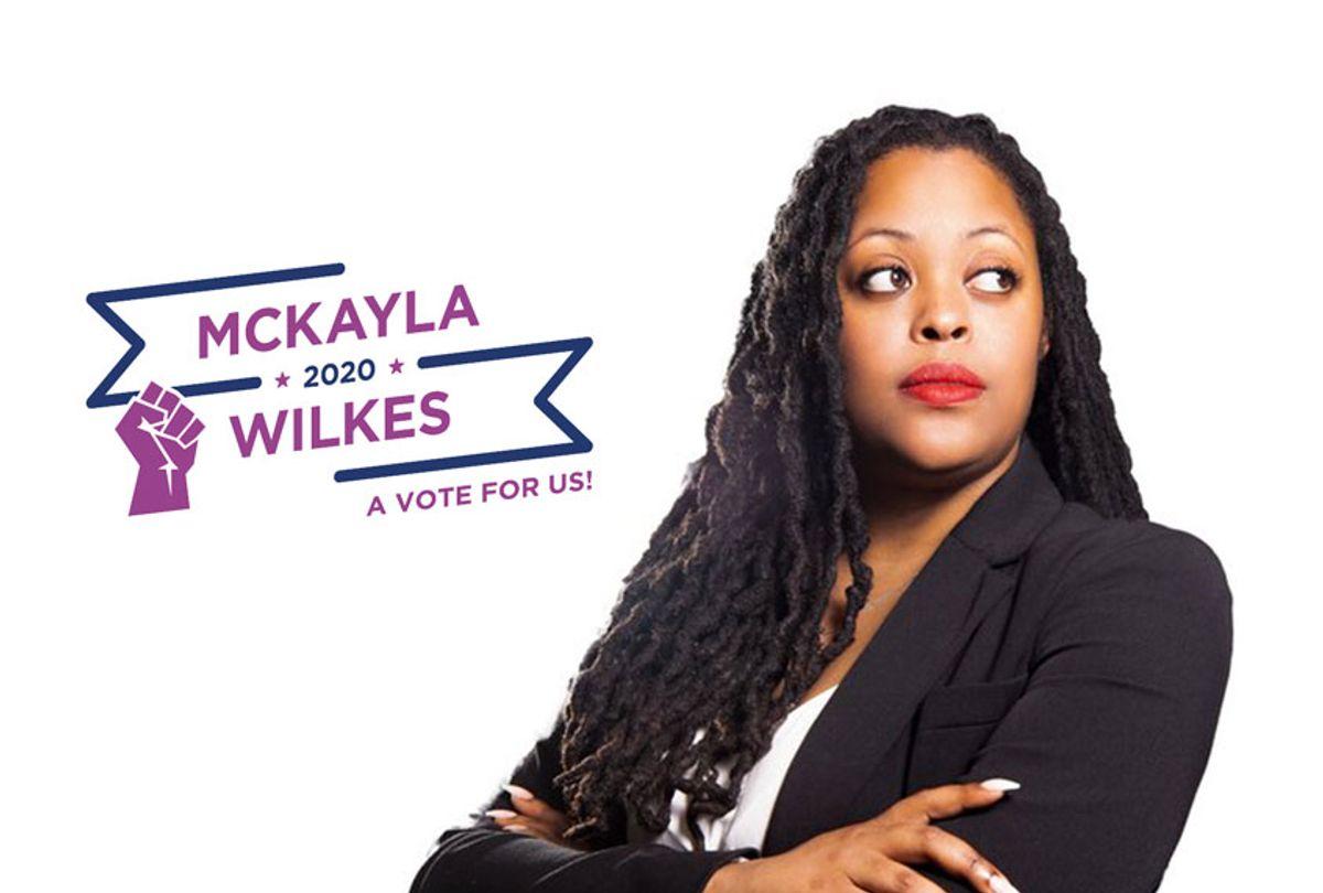 Mckayla Wilkes (mckayla2020.com / Salon)