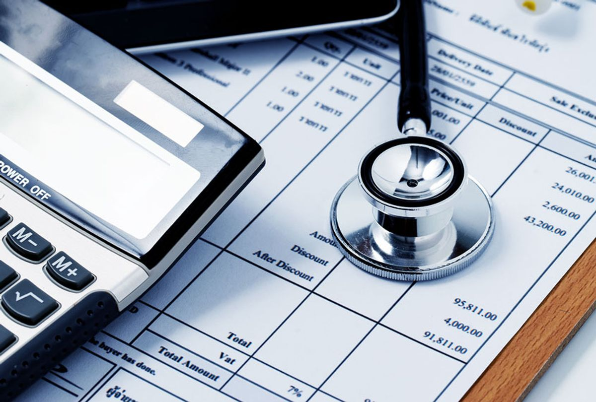 Healthcare costs and fees (Getty Images/Prapass Pulsub)