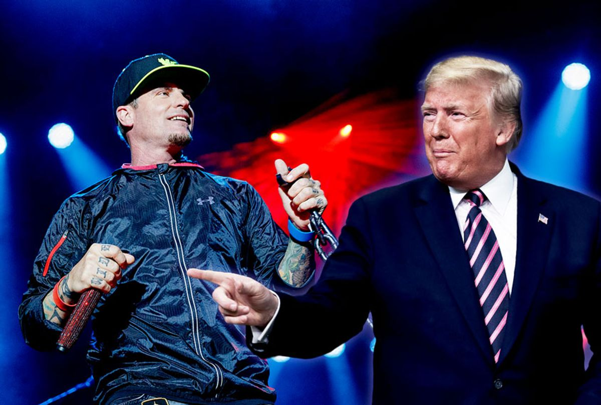 Vanilla Ice and Donald Trump (Drew Angerer/Andrew Chin/Getty Images/Salon)