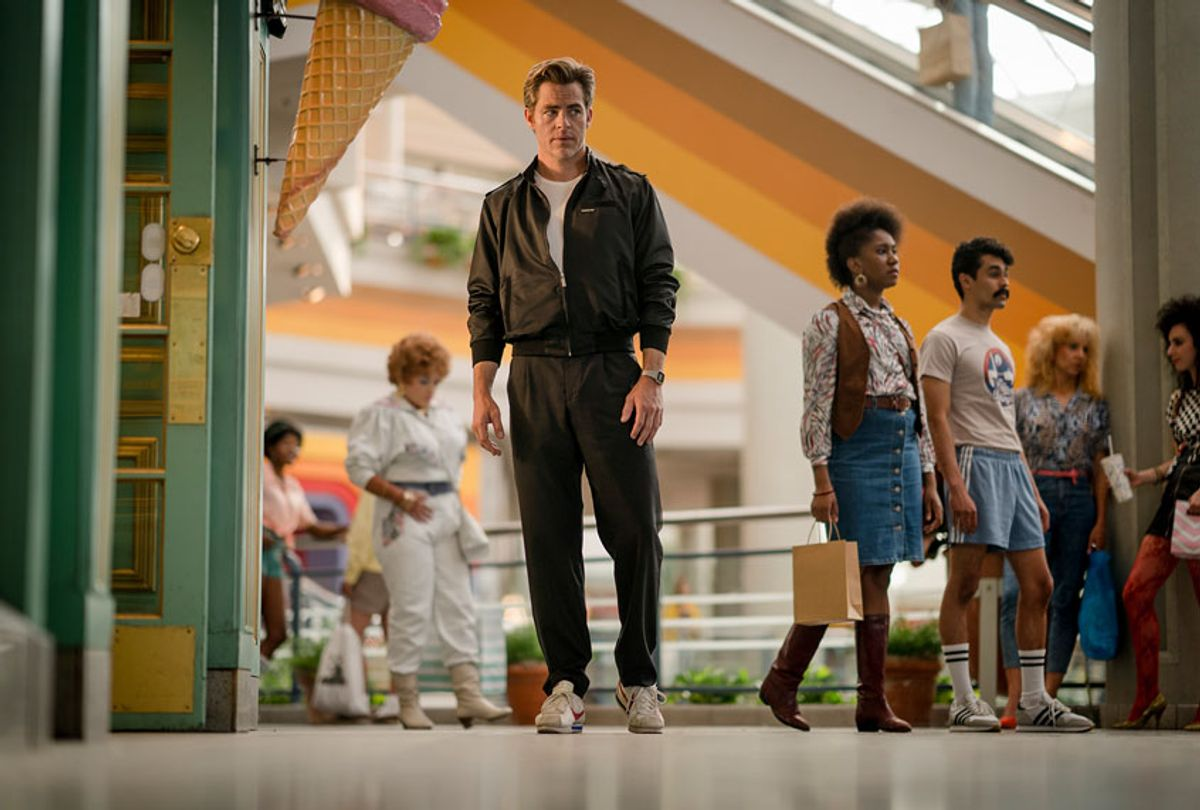 """CHRIS PINE as Steve Trevor in the action adventure """"WONDER WOMAN 1984,"""" a Warner Bros. Pictures release. (Clay Enos/ ™ & © DC Comics)"""