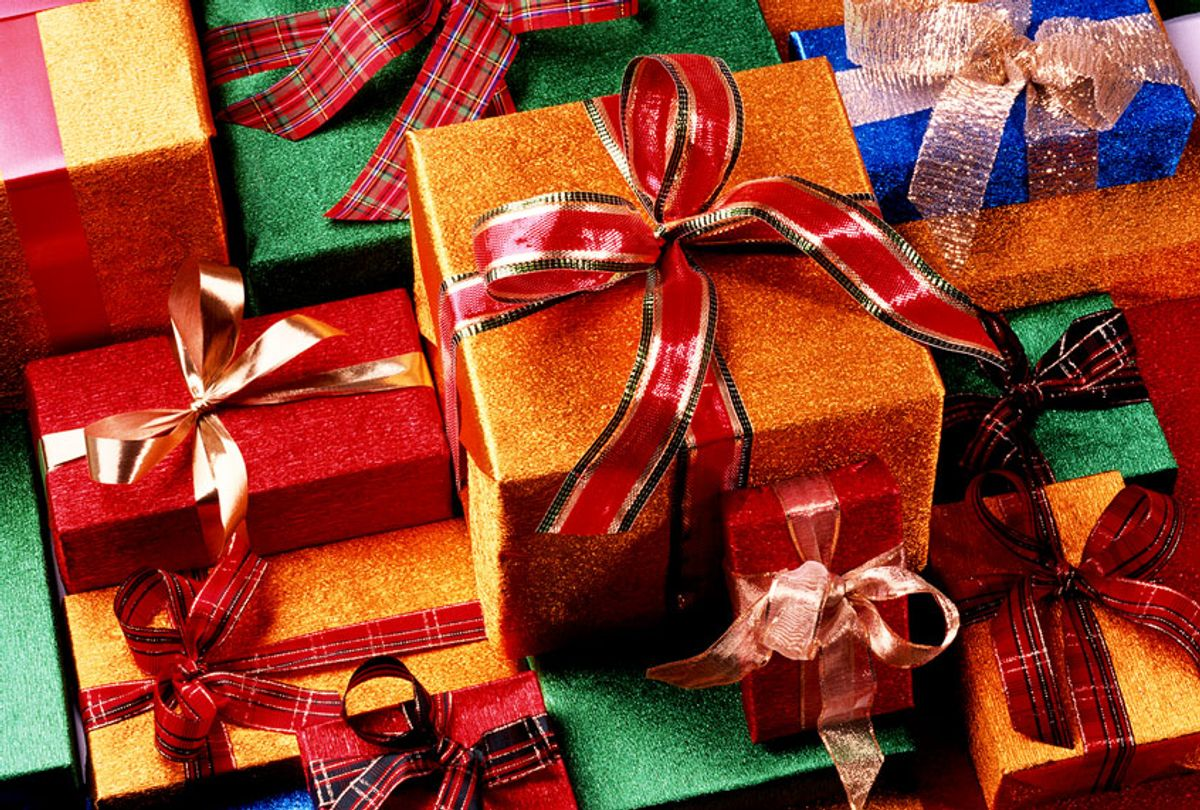 Presents in colorful wrapping (Getty Images)