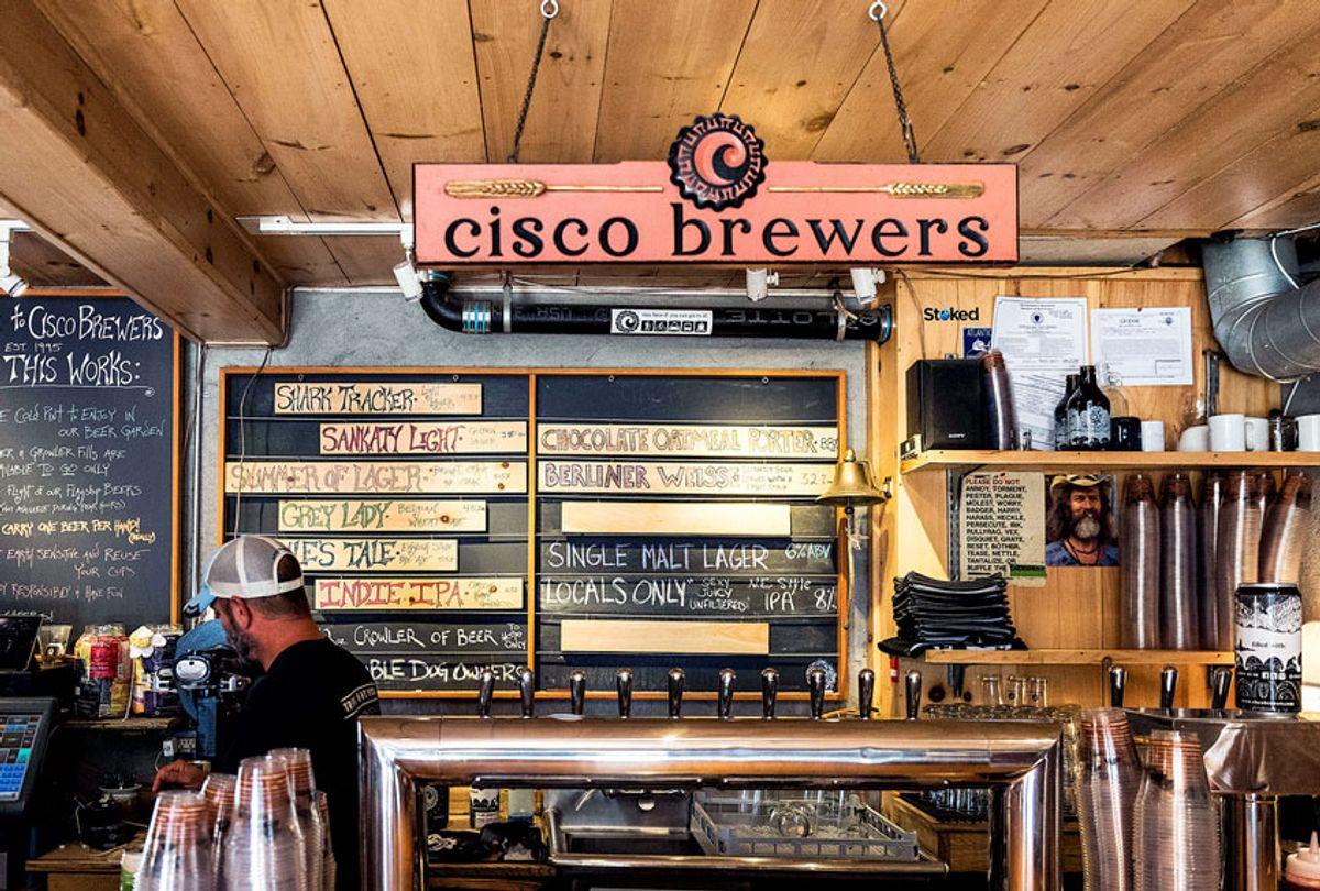 Cisco Brewery on Nantucket Island. (John Greim/LightRocket via Getty Images)