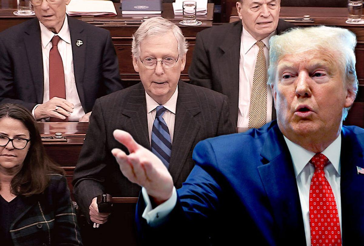 Donald Trump and Mitch McConnell (AP Photo/Salon)
