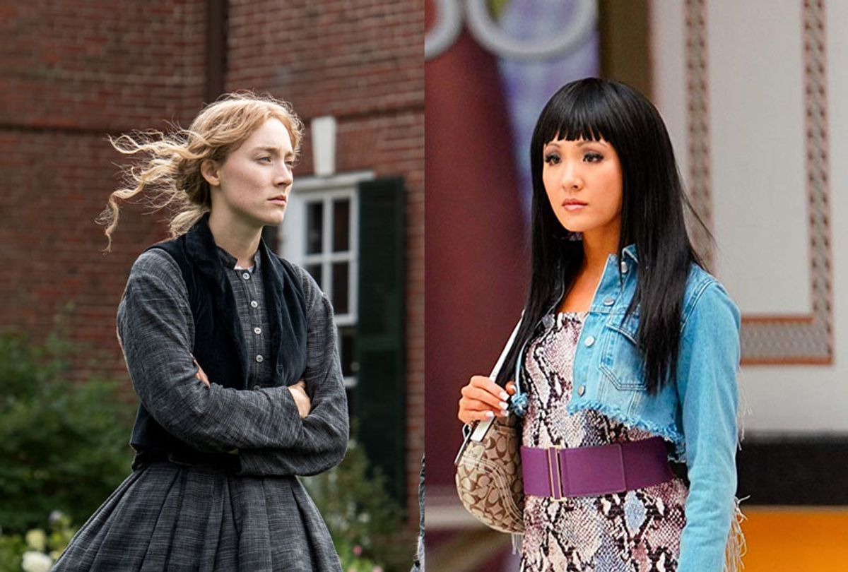 """Saorise Ronan in """"Little Women"""", & Constance Wu in """"Hustlers"""" (Columbia Pictures/Annapurna Pictures)"""