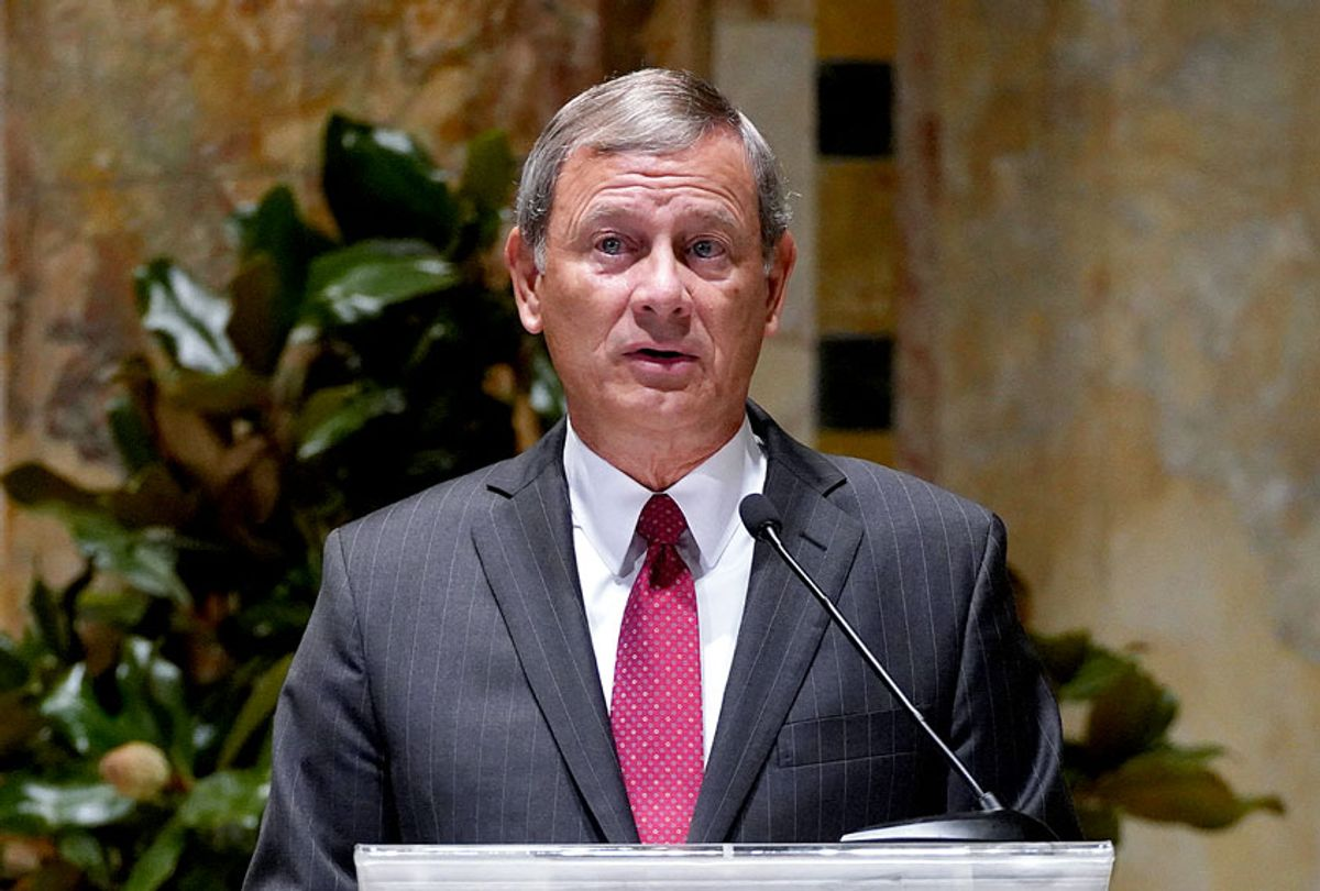Chief Justice of the United States John G. Roberts (Cindy Ord/Getty Images)