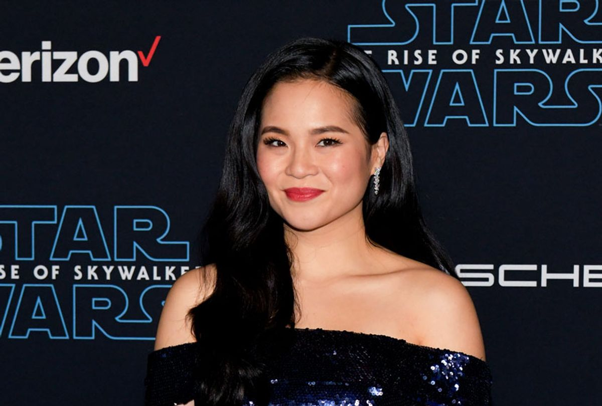 """Kelly Marie Tran attends the Premiere of Disney's """"Star Wars: The Rise Of Skywalker"""" on December 16, 2019 in Hollywood, California. (Rodin Eckenroth/WireImage)"""