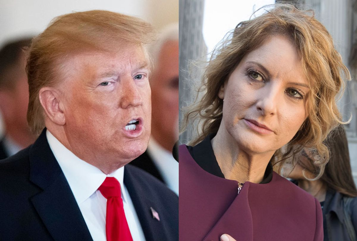 Donald Trump and Summer Zervos (AP Photo/Mary Altaffer/Alex Brandon)