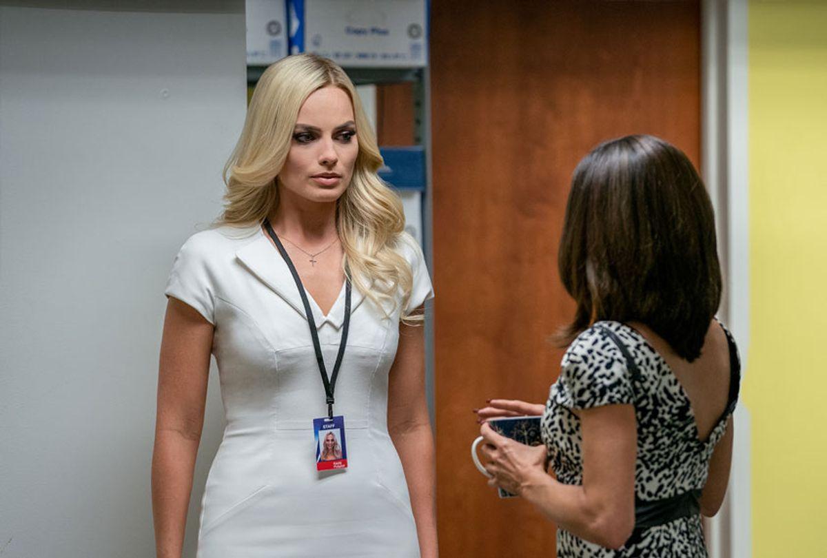 "Margot Robbie stars as ""Kayla Pospisil"" in BOMBSHELL. (Hilary Bronwyn Gayle SMPSP)"