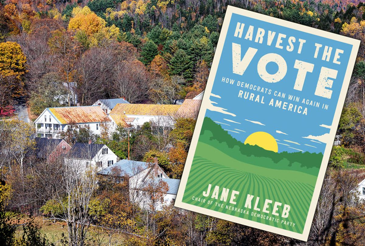 Charming village of Topsham, Vermont / Harvest The Vote by Jane Kleeb (John Greim/LightRocket via Getty Images/Ecco/Salon)