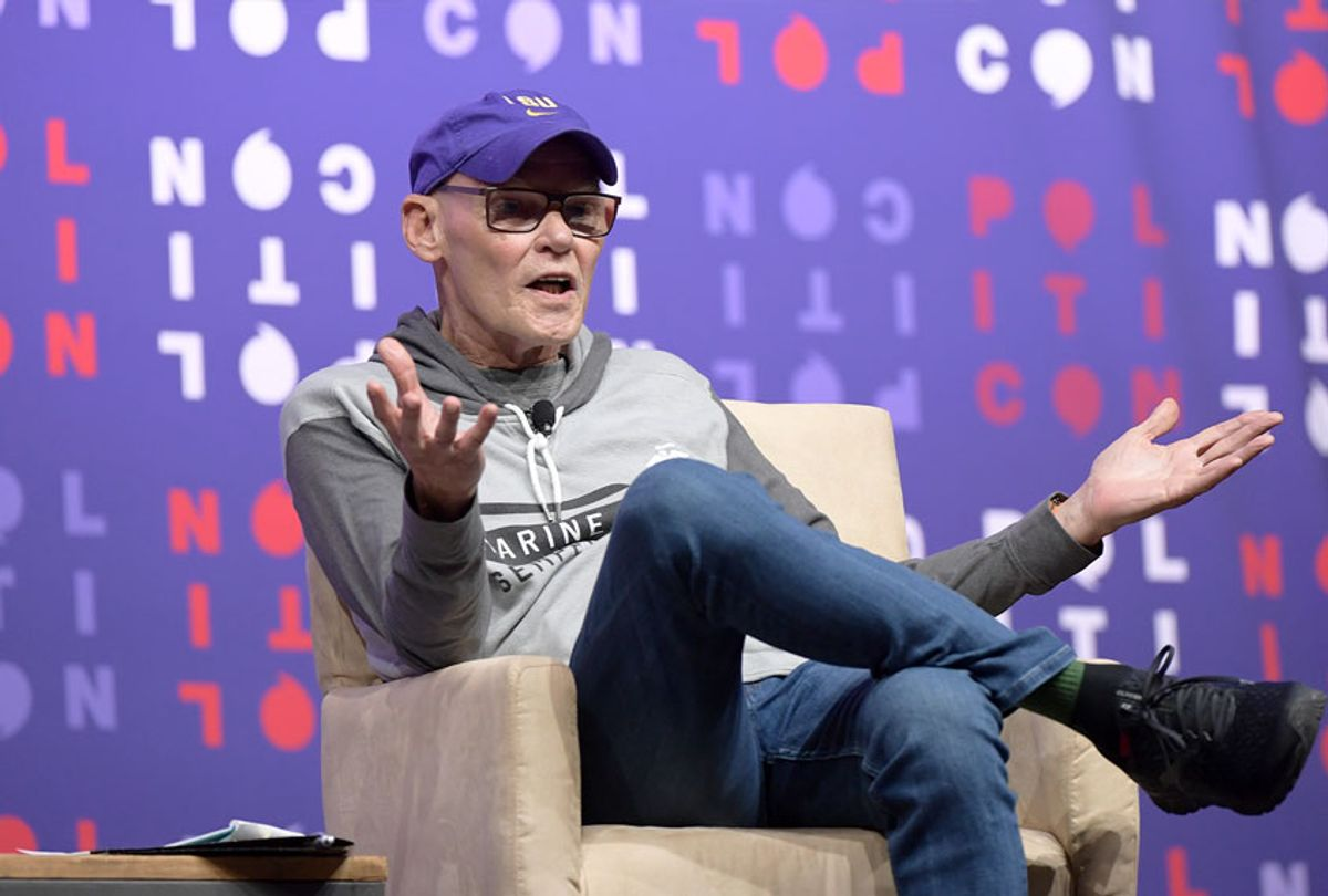 James Carville speaks onstage during the 2019 Politicon at Music City Center on October 26, 2019 in Nashville, Tennessee.  (Jason Kempin/Getty Images for Politicon )