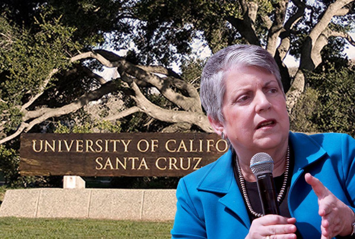 Janet Napolitano (AP Photo/University of California, Santa Cruz/Salon)