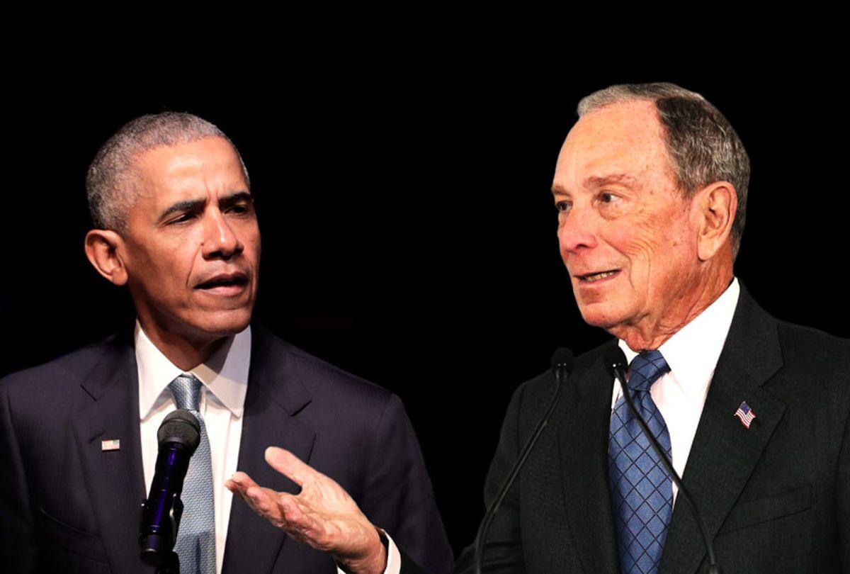 Barack Obama and Michael Bloomberg (AP Photo/Salon)