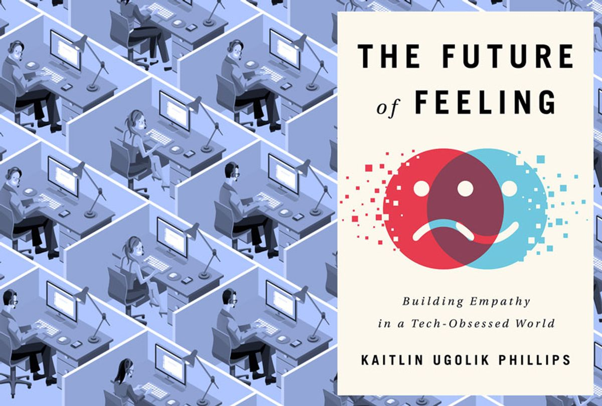 """""""The Future of Feeling: Building Empathy in a Tech-Obsessed World"""" by Kaitlin Ugolik Phillips (Little A/Getty Images/Salon)"""