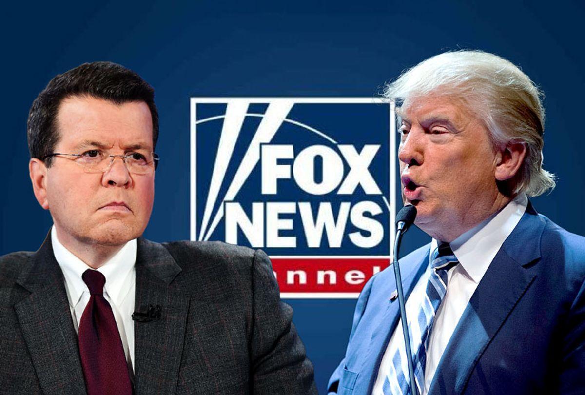 Donald Trump and Niel Cavuto (Fox News/Getty Images/Salon)