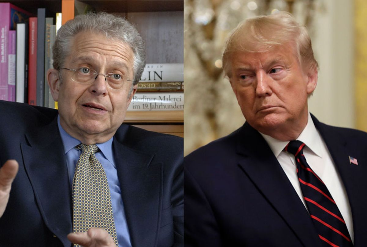 Laurence Tribe and Donald Trump (AP Photo/Getty Images/Salon)