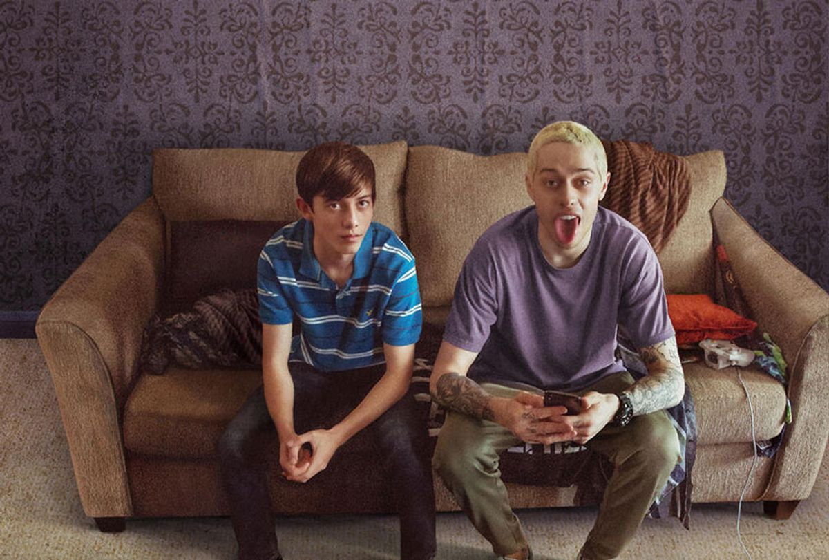 """Griffin Gluck and Pete Davidson in """"Big Time Adolescence"""" (Neon/Hulu)"""