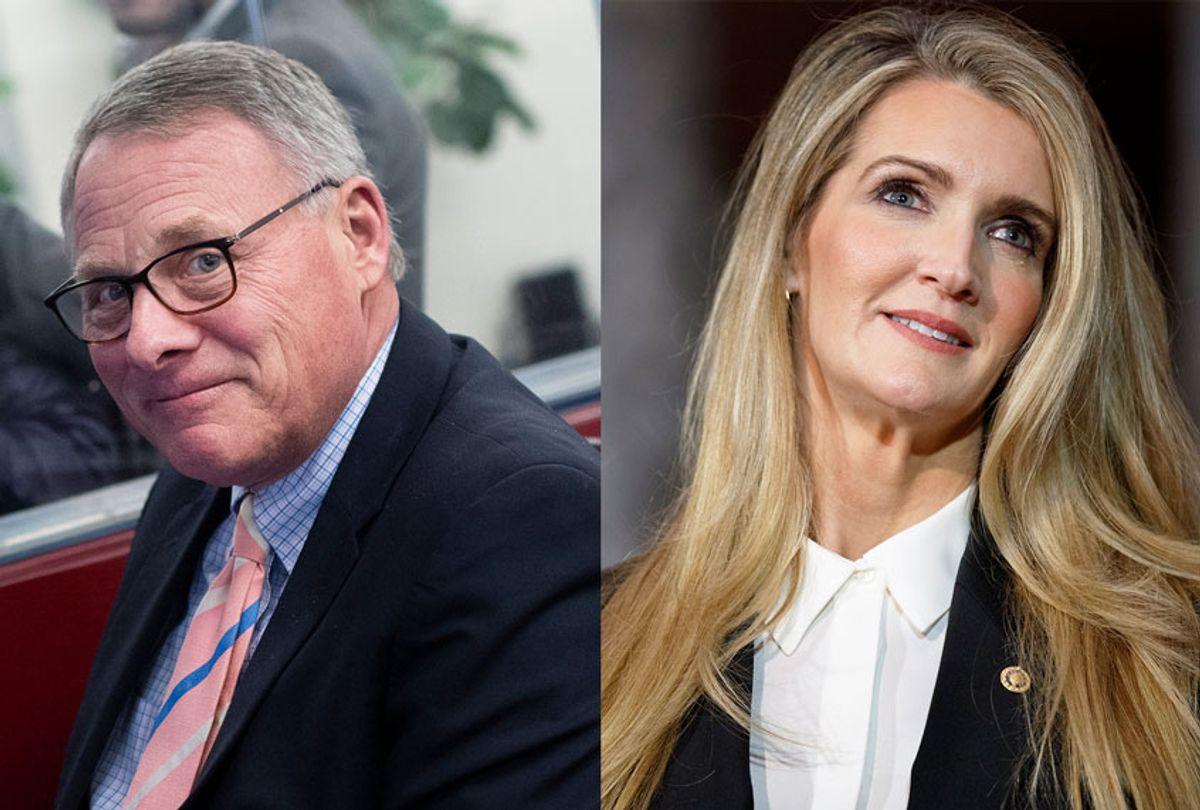 Richard Burr and Kelly Loeffler (Getty Images/AP Photo/Salon)