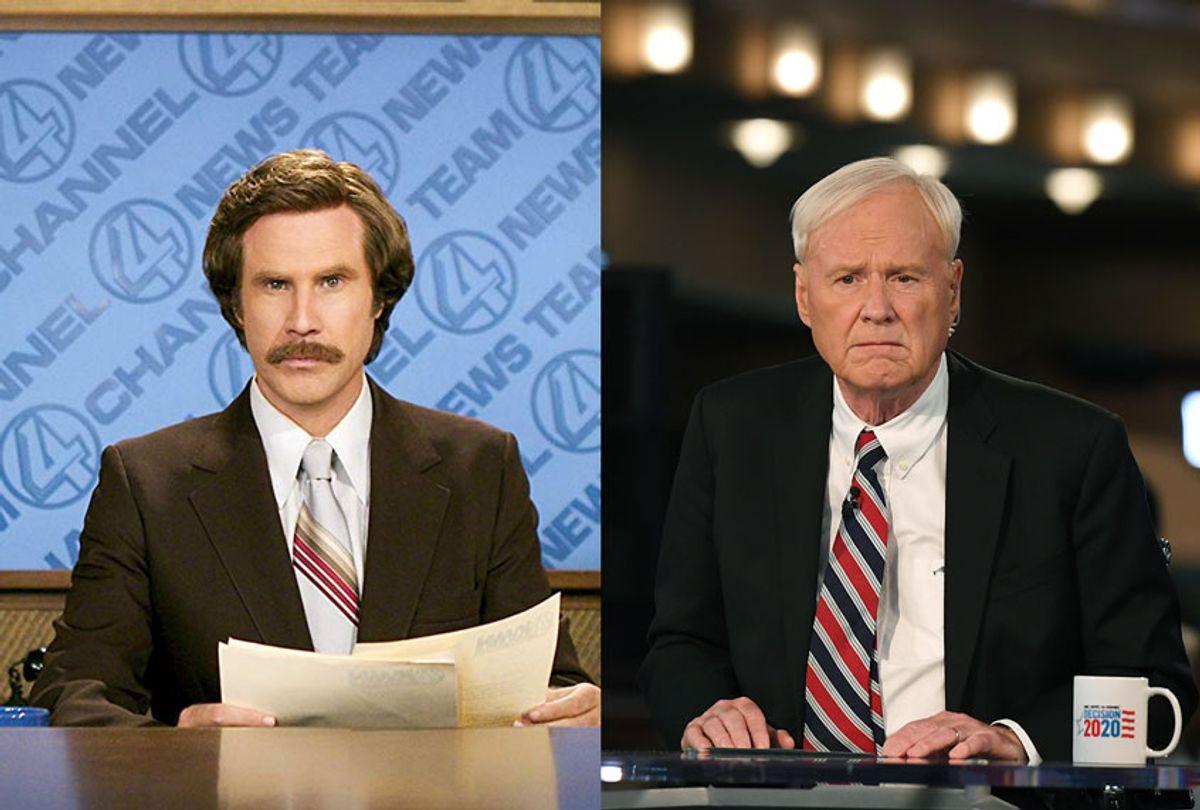 MSNBC Commentator Chris Matthews / Will Ferrell in Anchorman: The Legend of Ron Burgundy (2004) (AP Photo/Dreamworks)