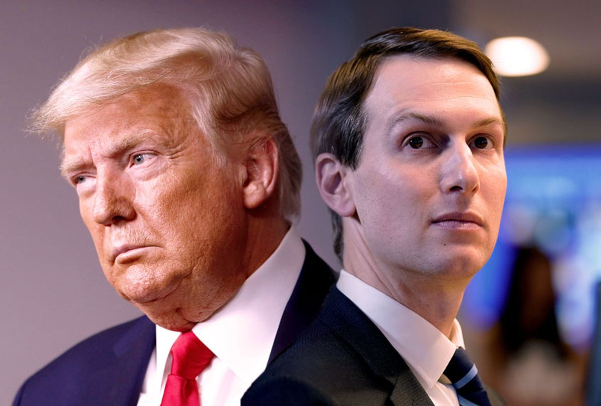 Donald Trump and Jared Kushner (AP Photo/Salon)
