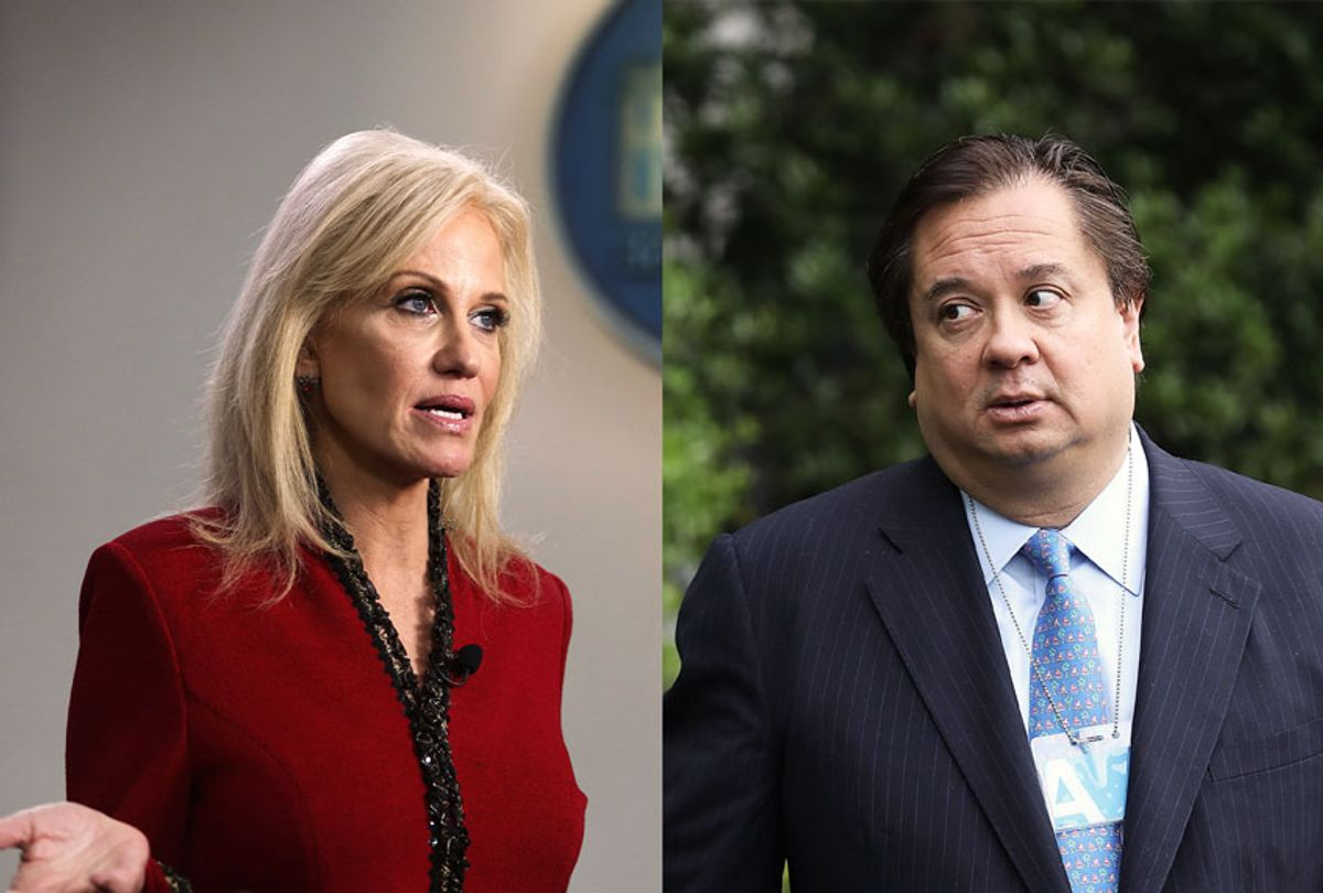 George Conway and Kellyanne Conway (Getty Images/Salon)