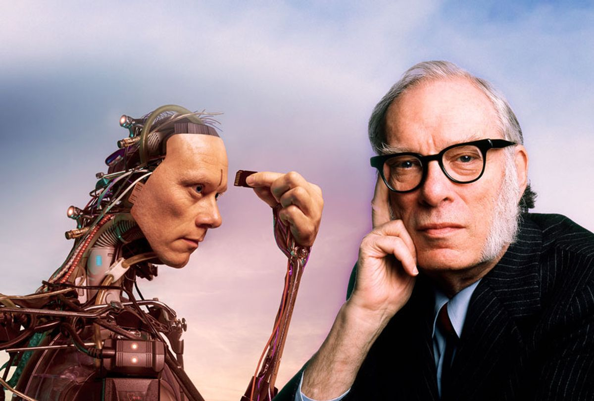 American author of science fiction Isaac Asimov (Getty Images/Salon)