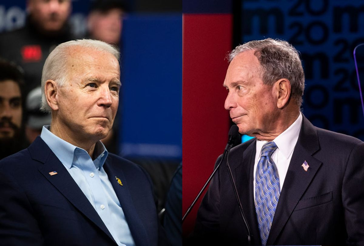 Joe Biden and Mike Bloomberg (Getty Images/AP Photo/Salon)
