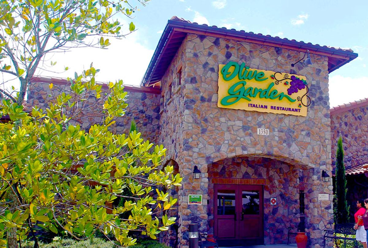 An Olive Garden restaurant (AP Photo/Alan Diaz)