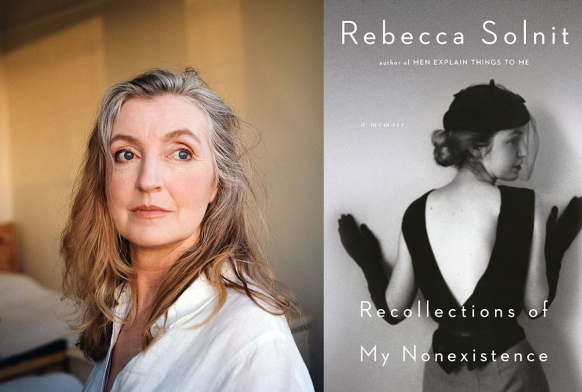 Recollections of my Nonexistence by Rebecca Solnit (Provided by publicist)