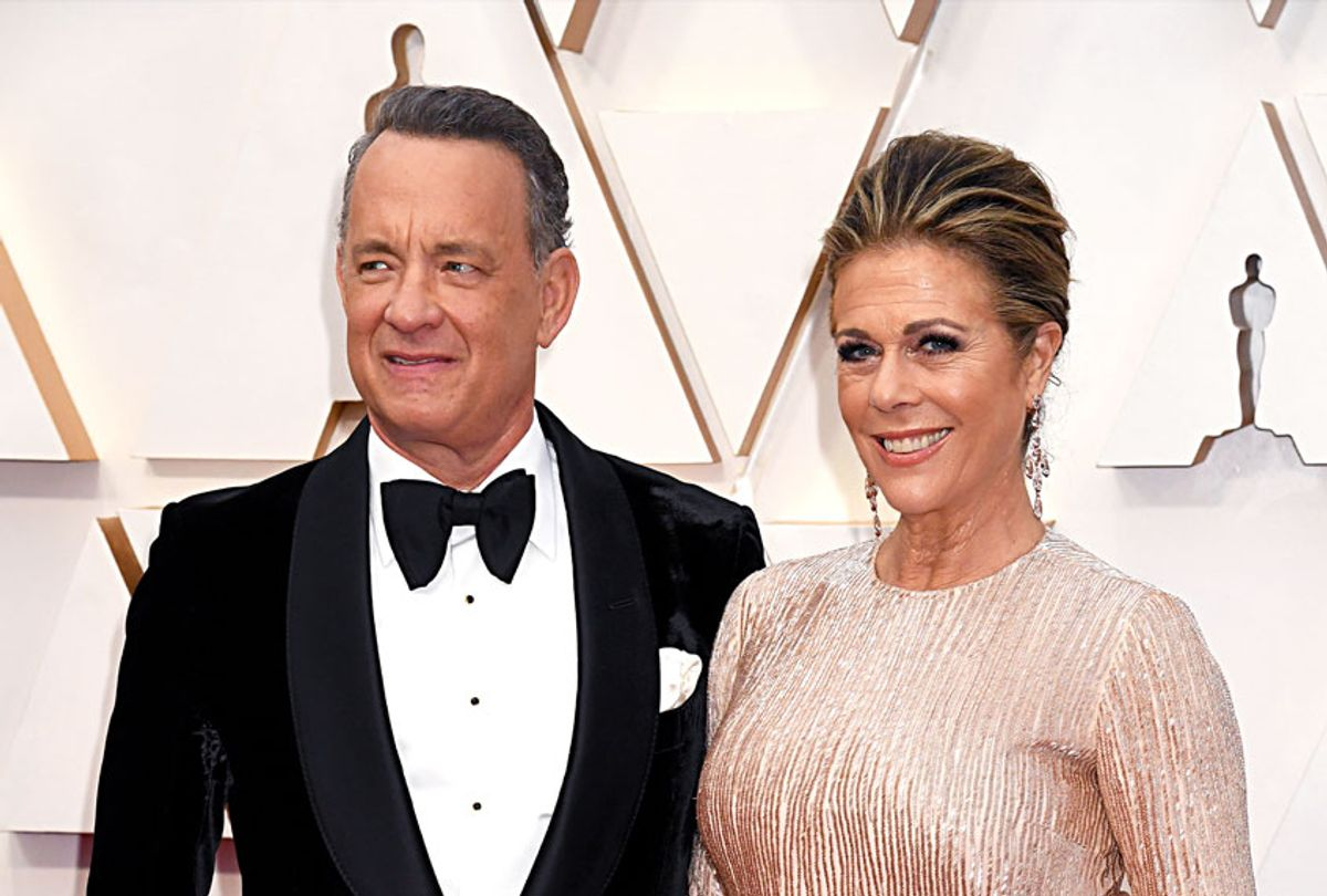 Tom Hanks and Rita Wilson attend the 92nd Annual Academy Awards at Hollywood and Highland on February 09, 2020 in Hollywood, California.  (Jeff Kravitz/FilmMagic)