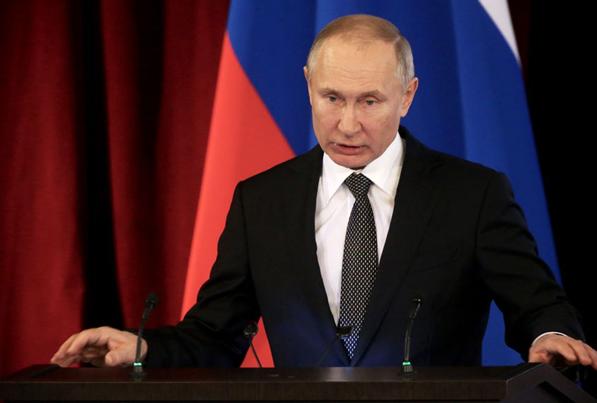 Russian President Vladimir Putin ( Mikhail Svetlov/Getty Images)