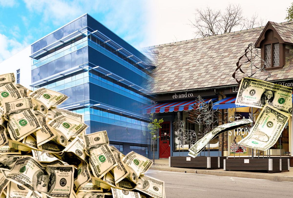 Large corporations getting big bailouts, while small businesses get bupkiss  (Getty Images/AP Photo/Salon)