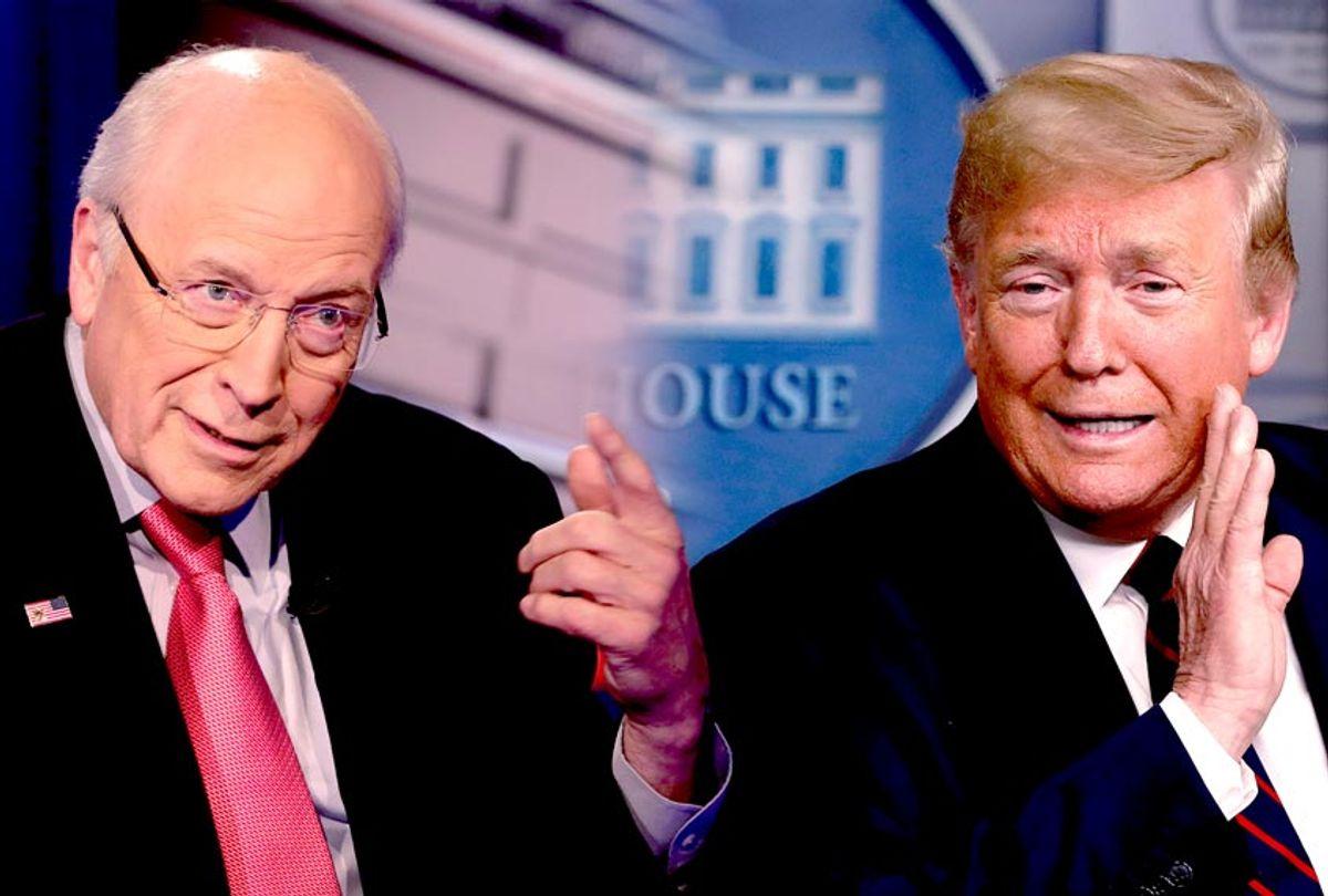 Dick Cheney and Donald Trump (AP Photo/Salon)